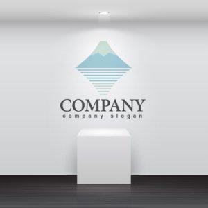 画像2: 山・富士・雄大・雪・ロゴ・マークデザイン480