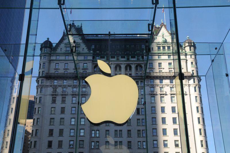 会社ロゴ apple