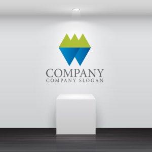 画像2: W・三角・山・海・ロゴ・マークデザイン007