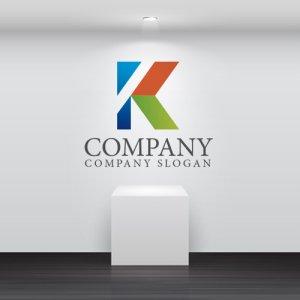画像2: K・三角・上昇・アルファベット・ロゴ・マークデザイン1793