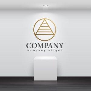 画像2: A・輪・三角・ピラミッド・アルファベット・ロゴ・マークデザイン2142