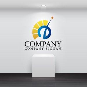 画像2: O・扇・アルファベット・太陽・ロゴ・マークデザイン2535