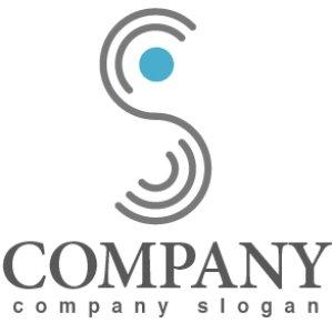画像1: S・線・点・アルファベット・ロゴ・マークデザイン2610