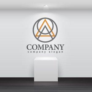 画像2: A・輪・線・三角・アルファベット・ロゴ・マークデザイン2713