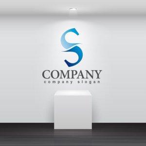 画像2: S・曲線・対照・アルファベット・グラデーション・ロゴ・マークデザイン2748