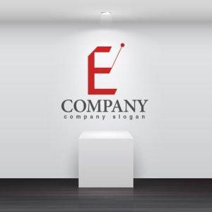 画像2: E ・指揮・魔法の杖・アルファベット・ロゴ・マークデザイン2780