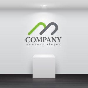 画像2: m・曲線・重なり・山・アルファベット・ロゴ・マークデザイン2822