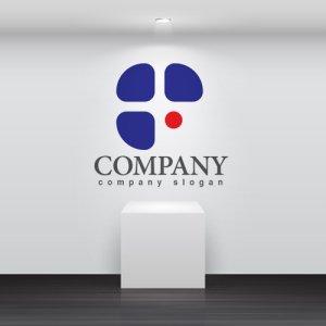 画像2: F・点・アルファベット・ロゴ・マークデザイン2895