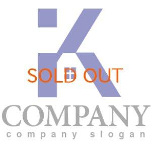 画像1: K・家・窓・アルファベット・ロゴ・マークデザイン2986