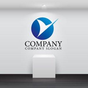 画像2: Y・曲線・アルファベット・グラデーション・ロゴ・マークデザイン3039