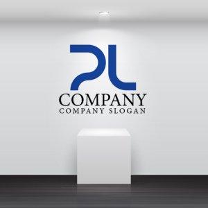 画像2: P・L・線・シンプル・アルファベット・ロゴ・マークデザイン3058
