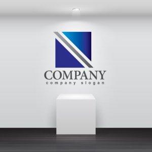 画像2: N・四角・シンプル・グラデーション・ロゴ・マークデザイン3232