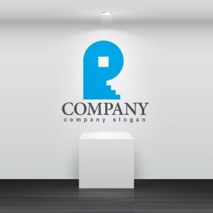 画像2: R・家・階段・アルファベット・ロゴ・マークデザイン3505