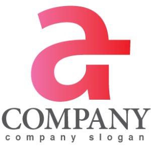 画像1: a・G・グラデーション・アルファベット・ロゴ・マークデザイン3633