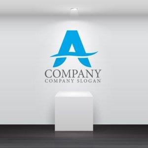 画像2: A・曲線・シンプル・アルファベット・ロゴ・マークデザイン3660