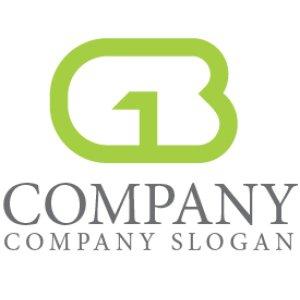 画像1: G・B・アルファベット・ロゴ・マークデザイン4317