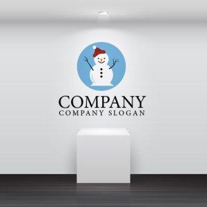 画像2: 雪だるま・帽子・キャラ・ロゴ・マークデザイン076