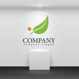 画像2: 葉・実・成長・上昇・ロゴ・マークデザイン015