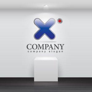 画像2: X・アルファベット・グラデーション・ロゴ・マークデザイン020