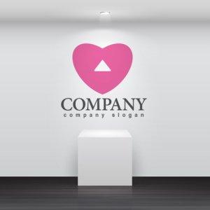 画像2: ハート・矢印・上昇・ロゴ・マークデザイン2760