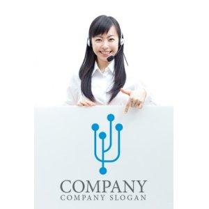 画像3: つながり・連結・上昇・ロゴ・マークデザイン210