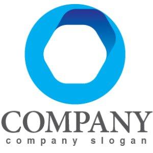 画像1: 輪・六角形・上昇・ロゴ・マークデザイン300