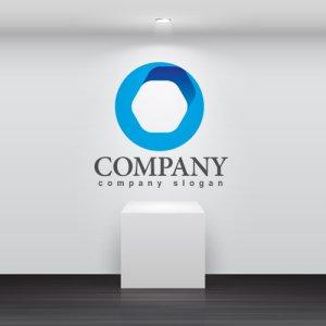 画像2: 輪・六角形・上昇・ロゴ・マークデザイン300