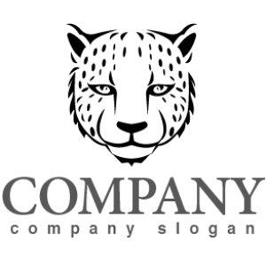 画像1: ヒョウ・動物・ロゴ・マークデザイン201