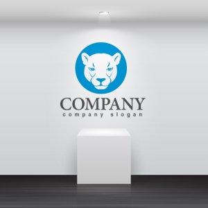 画像2: ヒョウ・動物・ライオン・ロゴ・マークデザイン202