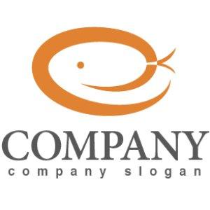 画像1: 蛇・e・楕円・ロゴ・マークデザイン249