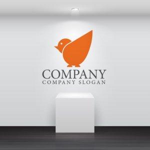 画像2: 羽・鳥・動物・ロゴ・マークデザイン343
