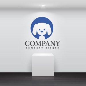 画像2: 犬・プードル・輪・ロゴ・マークデザイン360