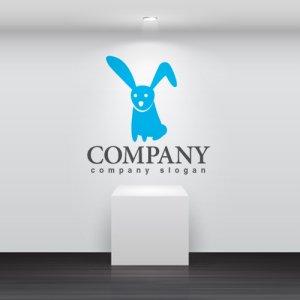 画像2: うさぎ・耳・動物・ロゴ・マークデザイン418
