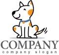 犬・尻尾・ロゴ・マークデザイン425