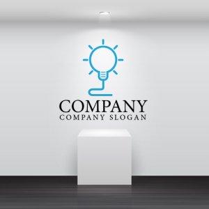 画像2: 電球・光・アイデア・ロゴ・マークデザイン130