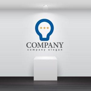 画像2: LED・光・電球・顔・ロゴ・マークデザイン161