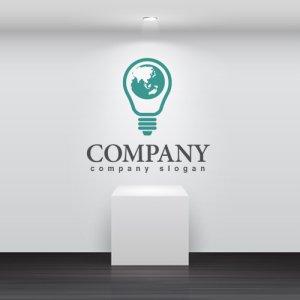 画像2: エコ・電球・地球・ロゴ・マークデザイン168