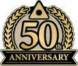 画像1: anniversary・50th・50周年・ロゴ・マークデザイン022 (1)