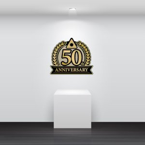 画像2: anniversary・50th・50周年・ロゴ・マークデザイン022