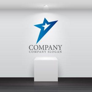 画像2: 星・上昇・輝き・ロゴ・マークデザイン049