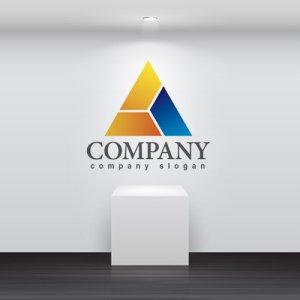 画像2: 三角・ピラミッド・山・Y・グラデーション・ロゴ・マークデザイン286