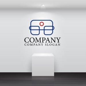 画像2: 人・モニター・線・つながり・囲み・ロゴ・マークデザイン709