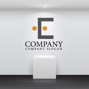画像2: 人・E・ドア・顔・ロゴ・マークデザイン720