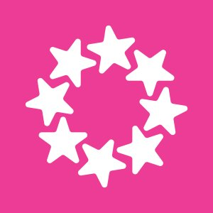 画像1: 星・花・輪・ロゴ・マークデザイン007