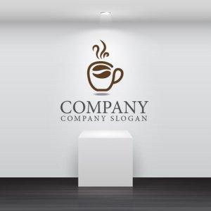 画像2: カップ・コーヒー・豆・休憩・ロゴ・マークデザイン037