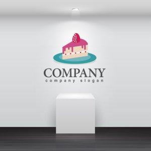 画像2: ケーキ・ いちご・ お皿・ロゴ・マークデザイン052