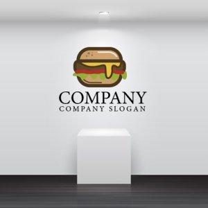 画像2: ハンバーガー・ パン・ロゴ・マークデザイン055