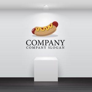 画像2: ホットドッグ・ パン・ロゴ・マークデザイン056