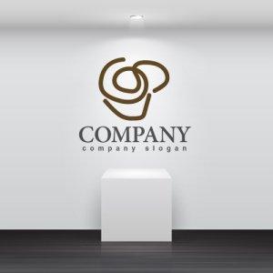 画像2: カップ・コーヒー・線・ロゴ・マークデザイン088