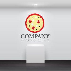 画像2: ピザ・ロゴ・マークデザイン091